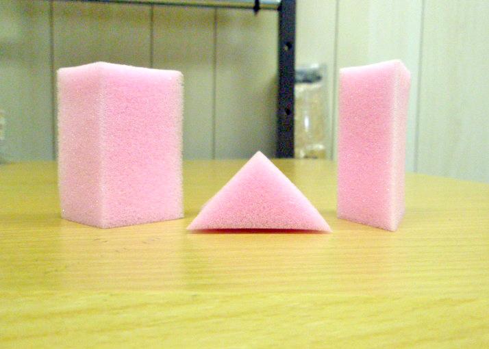 ウレタンスポンジ 三角柱